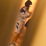 【【限定配信】マ○コ丸見え!!第三体育館潜入撮】第三体育館File036 分かるでしょう!5画質良くないが、質はいいよ!