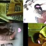 《今だけ期間限定》女子トイレ盗撮(200)感謝!正服J系笑顔女子D生無毛!?う☆ち美女LED超広角便器内前後外等全6名