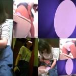 女子トイレ盗撮(281)唇が開いている便器内ハツラツ美女は楽しそうにスキップ長髪就活生正対も全11名
