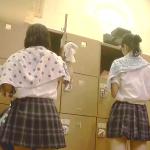 【お宝】JKちゃん二名着替え隠し撮り【期間限定】