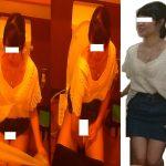 トイレ安らぎ⑳、スカート女子4名集合、童顔毛深さに昇天。外撮