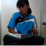 Tennis Girl⑫パンツの誘惑(^^♪後ろを向いて小ぶりなお尻丸出し☺【フルHD】